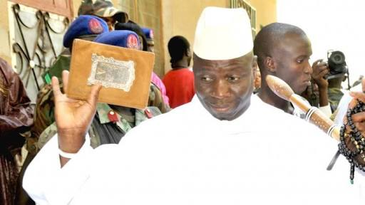 Check Out The Conditions Jammeh Gave For Him To Step Down