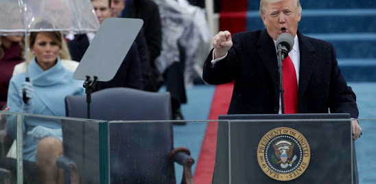 Full Text Of President Donald Trump's Inaugural Address