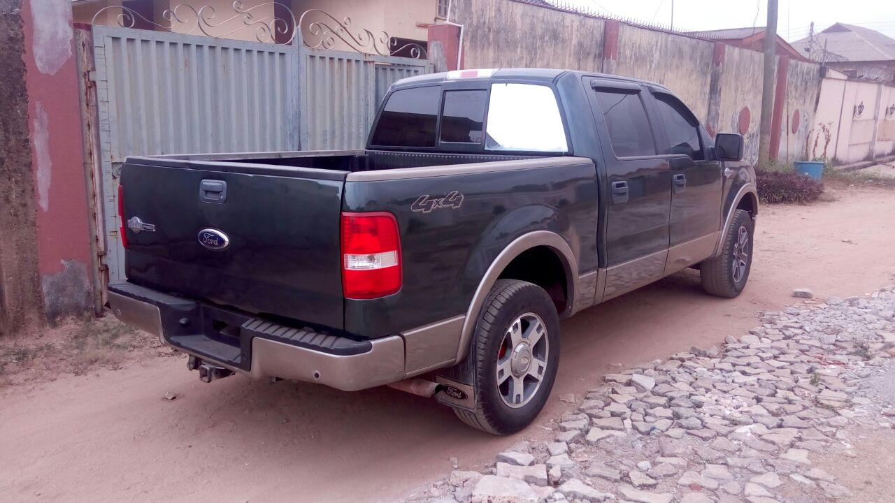 Foreign Used 2006 Ford F150 King Ranch At N28m Slighty Negotiable F 150 Call 07062127614 Whatsapp 09057357440 Re