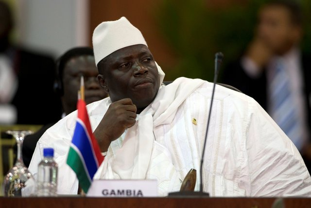 [video] Yahya Jammeh Officially Steps Down