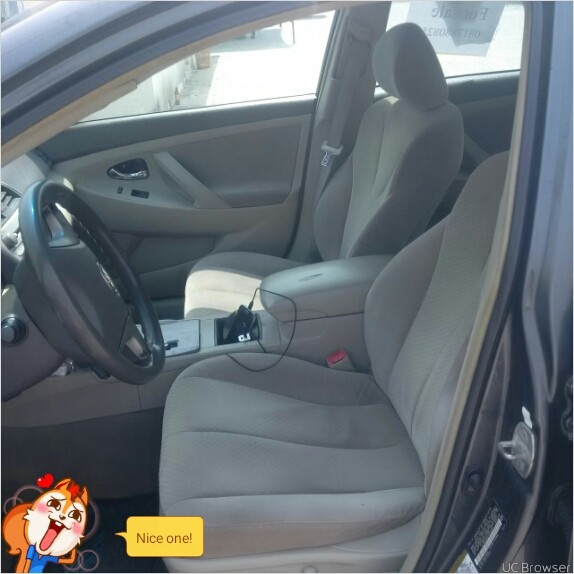 2012 Toyota Venza Transmission: Clean Nigeria Used Toyota Camry 2008 Model Second Body@1