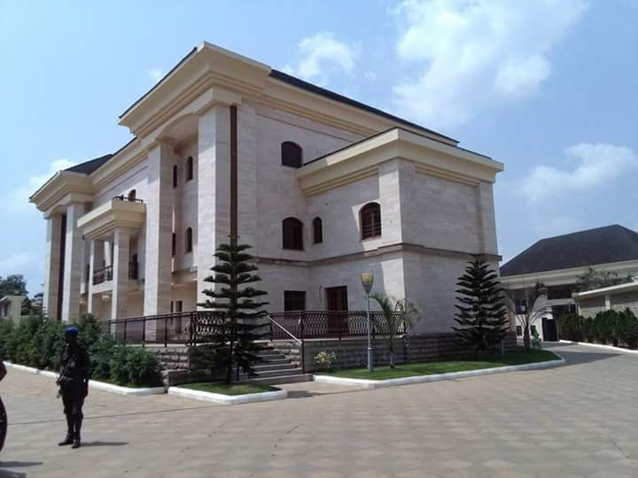 Check Out Ifeanyi Ubah's Mansion