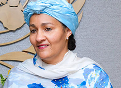 Amina Mohammed To Resign On March 2nd