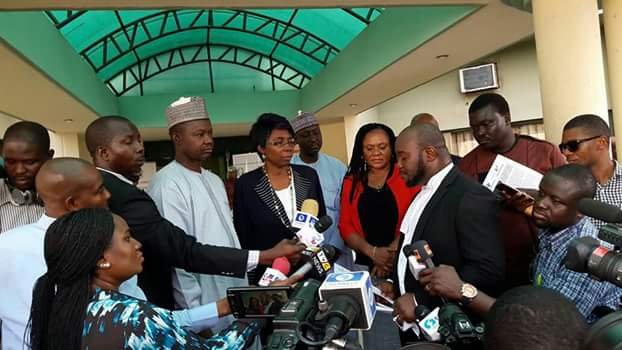 Lawyers Protest In Abuja Over DSS Hijack Of Democracy, Detention Of Saraki's Aide