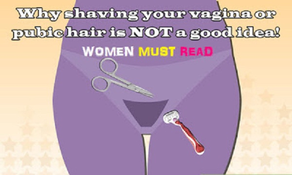 How to shave all your pubic hair