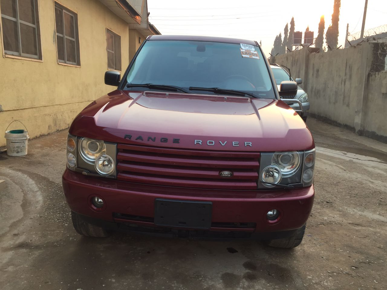 2005 range rover hse lagos cleared price reduction autos nigeria. Black Bedroom Furniture Sets. Home Design Ideas