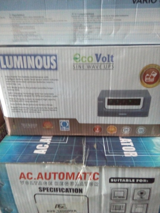 Luminous Inverter For Sale With Different Va Amp Battery
