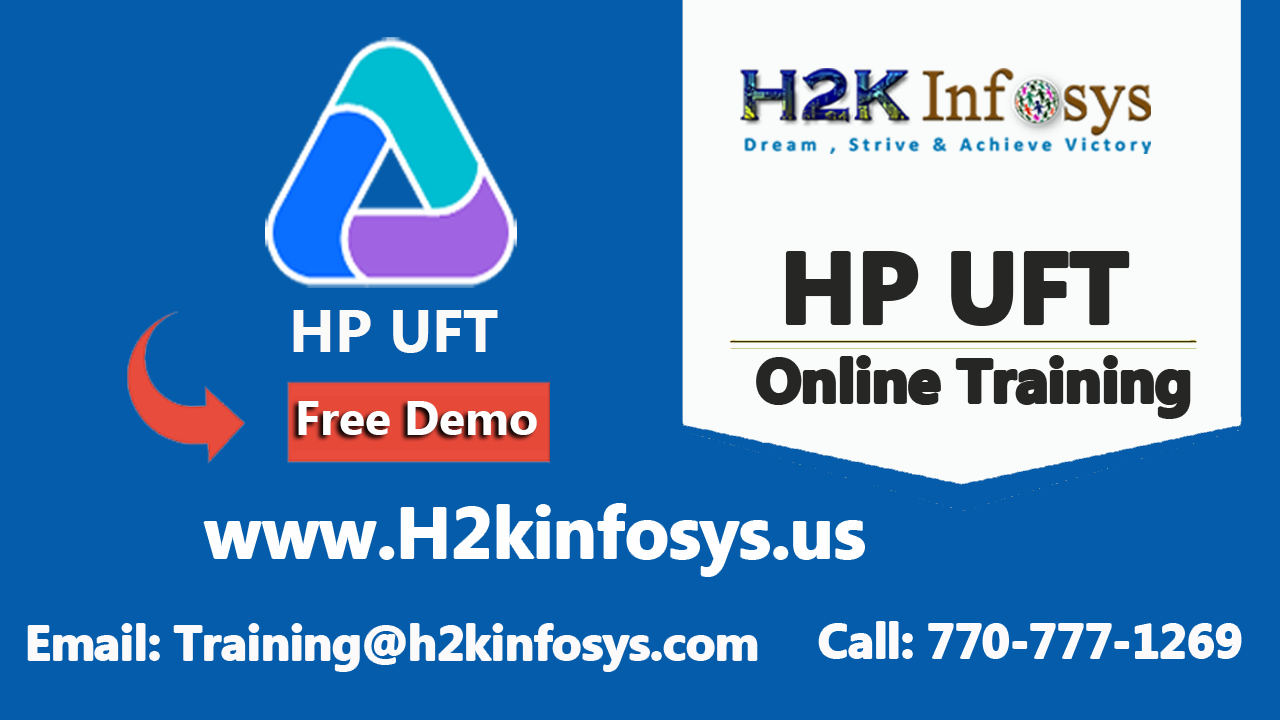 hp uft and assistance education