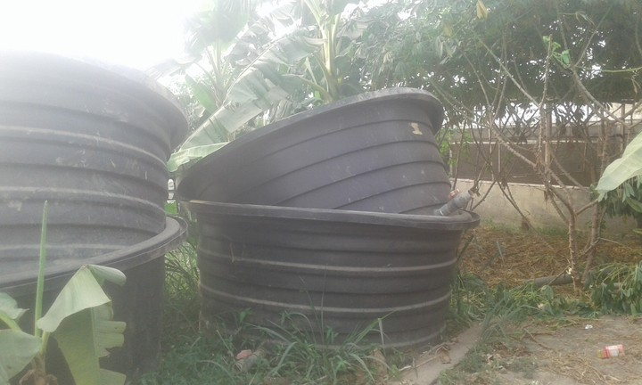 7 units of hart 4000 litres plastic for fish pond for sale for Fish plastic pond