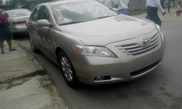 super clean 2008 toyota camry autos nigeria. Black Bedroom Furniture Sets. Home Design Ideas