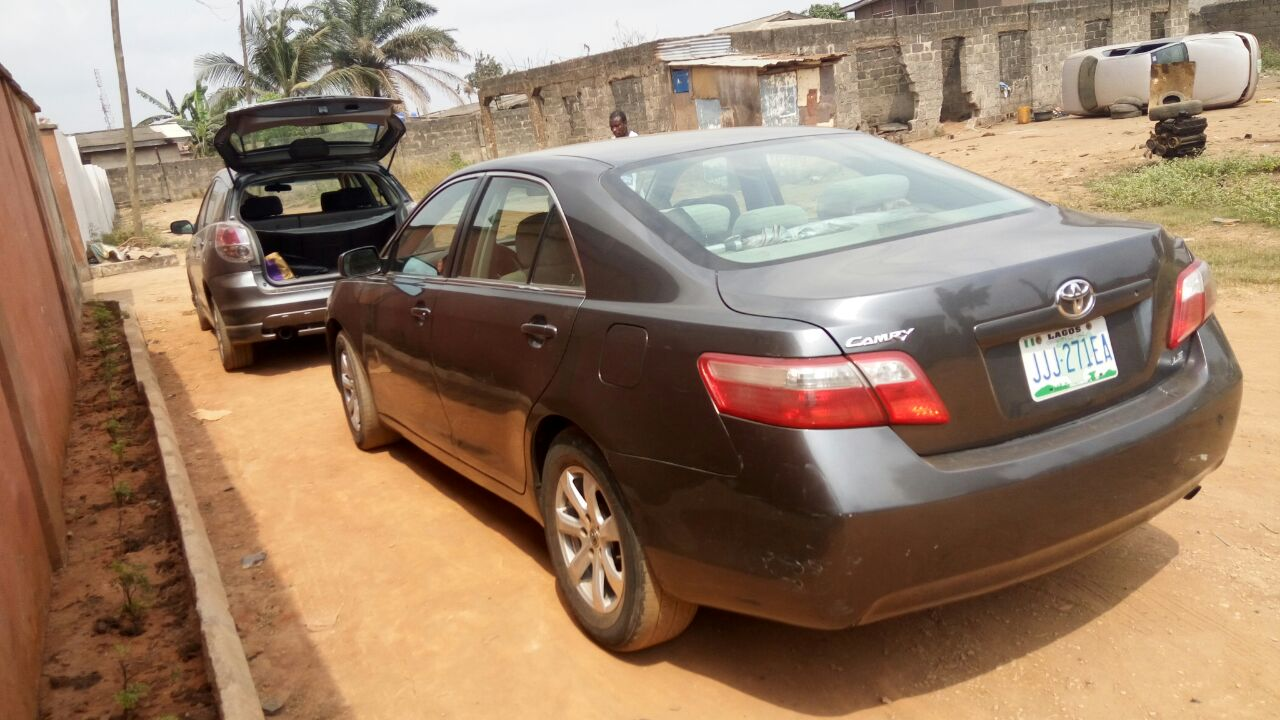 toyota camry 2008 for sale autos nigeria. Black Bedroom Furniture Sets. Home Design Ideas