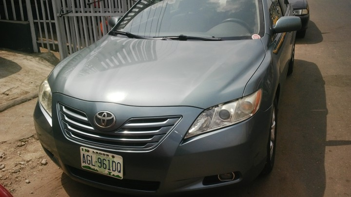 registered toyota camry le muscle 07 8 selling autos nigeria. Black Bedroom Furniture Sets. Home Design Ideas