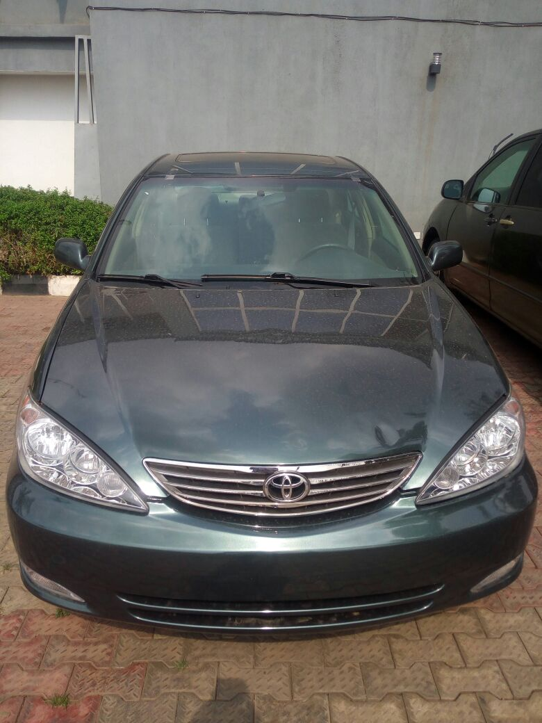 Sold Lagos Cleared Tokubo 2005 Toyota Camry Se Fabric