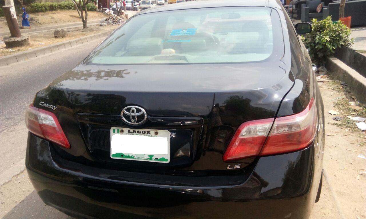 just in reg 2008 toyota camry for quicksales autos nigeria. Black Bedroom Furniture Sets. Home Design Ideas