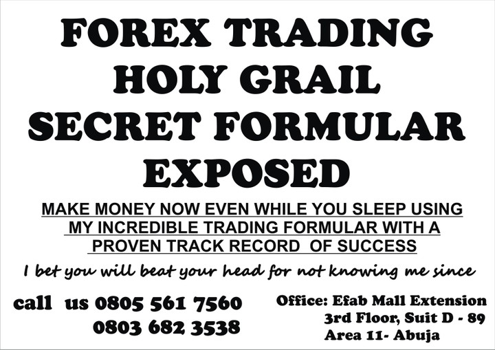 Forex trading holy grail