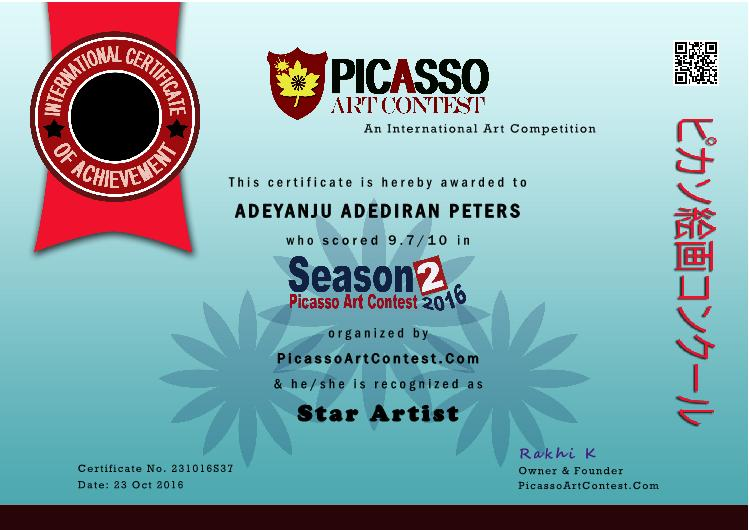 Direx123s posts first pictitled time won me star artist award at the picasso art contest visit and like my fb page httpswebfacebookdirexpendrawingsandart18 reheart Images