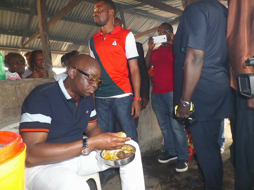 Governor Fayose suprises NYSC for good hospitality - Campus Trybe