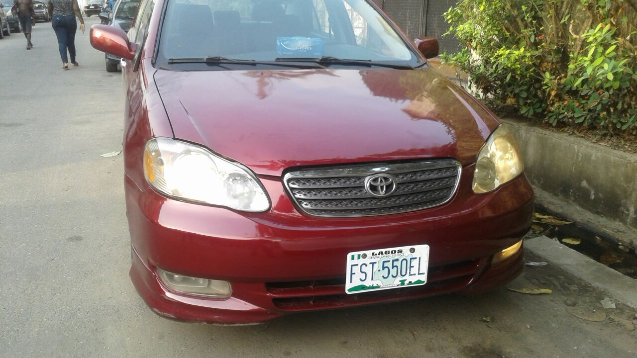 Clean Registered 2005 Toyota Corolla Sport Edition Price 1 680m