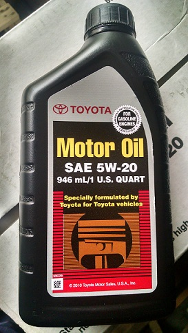 Us engine oils toyota motor oil 5w20 autos 18 nigeria for Types of motor oil weight