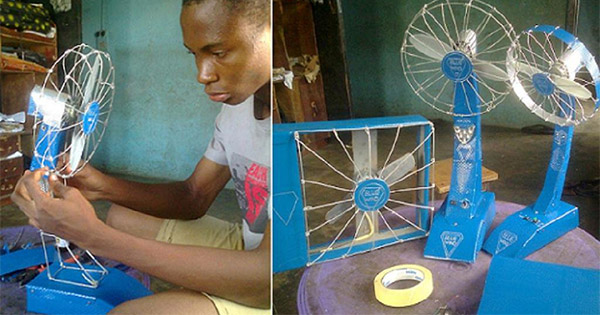 13-Year-Old Nigerian Boy Builds Fan That Last Up To 19 Hours Without Electricity - Technology Market