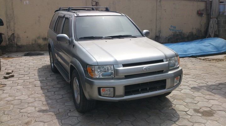 2001 infiniti qx4 3 5l 4wd for sale asking price is see pictures autos nigeria. Black Bedroom Furniture Sets. Home Design Ideas