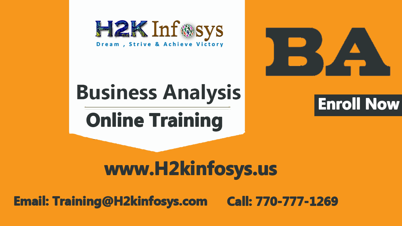 Business Analyst Training Online With Real Time Projects Education