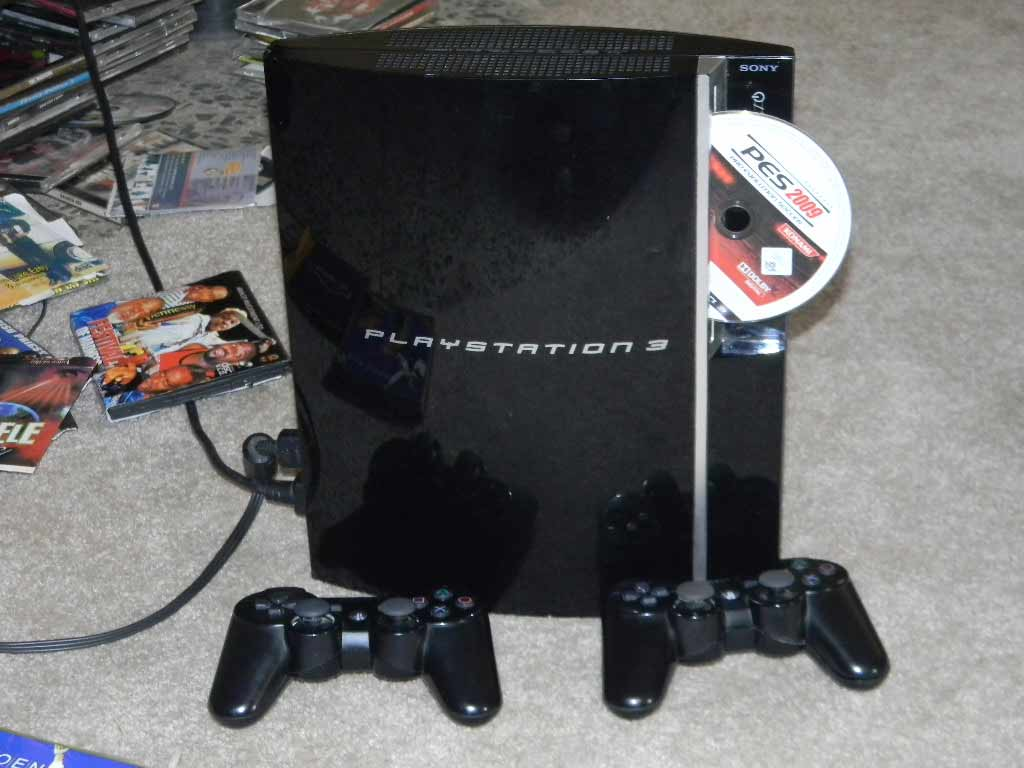 Used us ps 3 40gb game console and game cds for sale video games and gadgets for sale - Playstation one console for sale ...