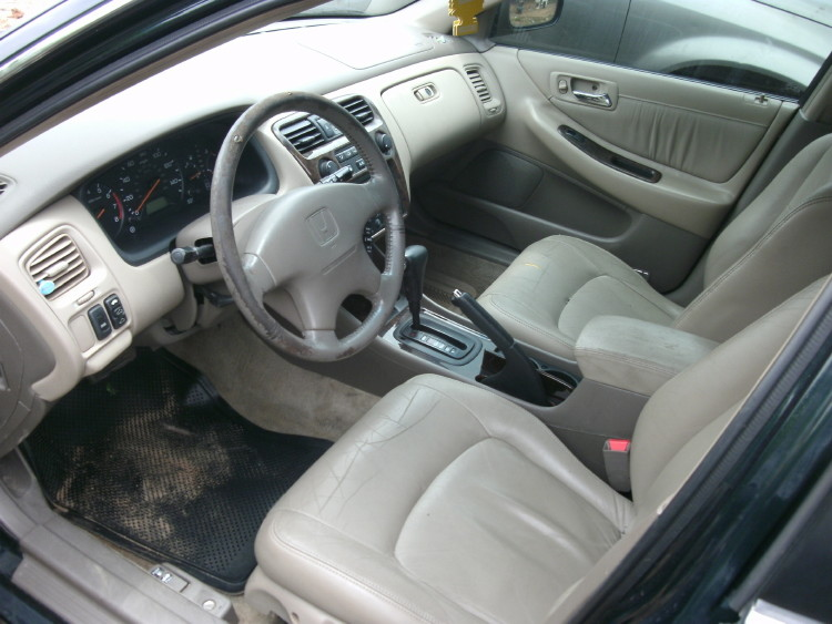 2000 Honda Accord Ex Leather Interior 4 Cylinder Engine
