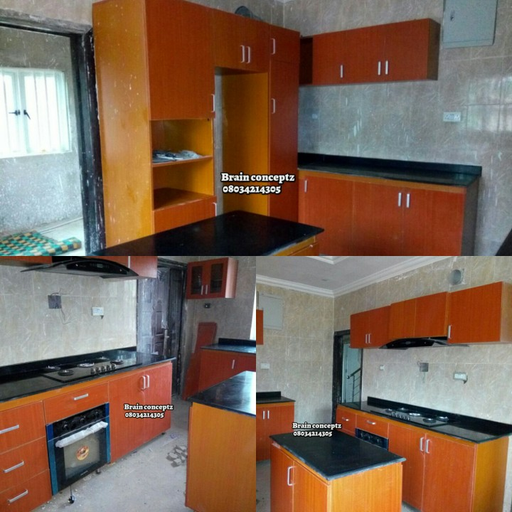 Kitchen cabinets with pictures properties 3 nigeria for Kitchen cabinets nigeria