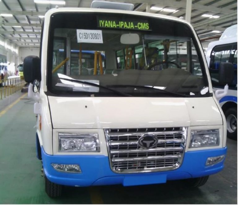 More Photos Of The Bus That Will Replace 'DANFO' In Lagos