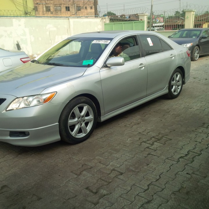 Toyota Camry Colors: SOLD...Tin-can Cleared 2009 Toyota Camry Sport Silver