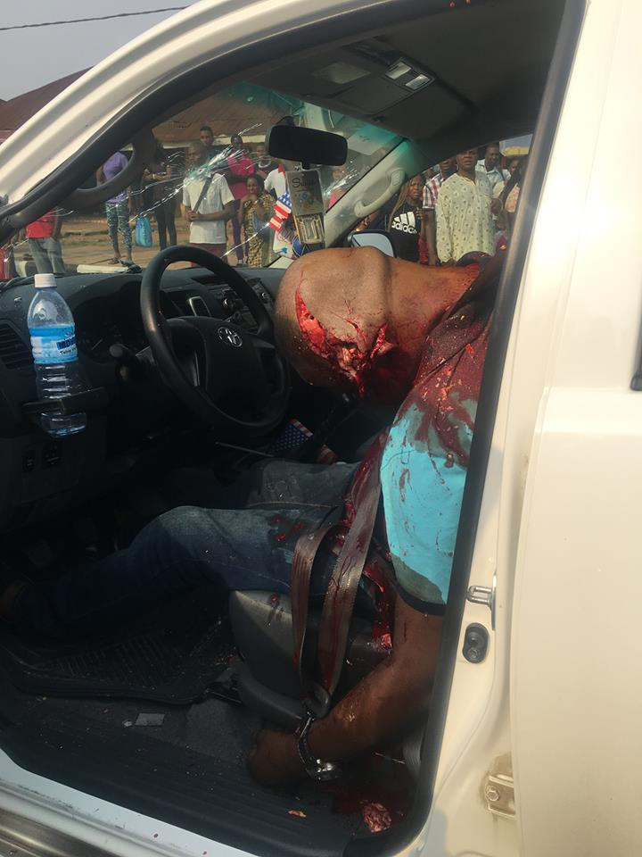 Man Assassinated In Broad Daylight In Benin, Son Shot (Graphic Photos)