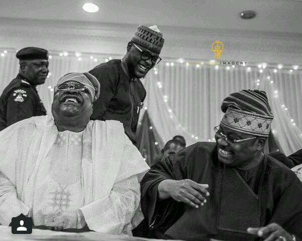 When Nigerian Politicians Hear That Dangote Is The Richest Man In Africa  [Photo]