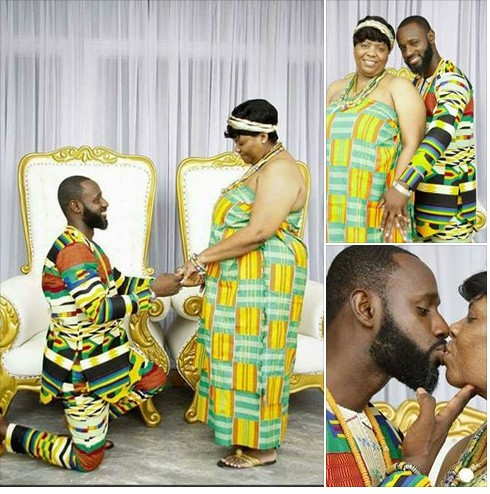 Young Man Marries An Older Woman And This Has Got People Talking (Photos)