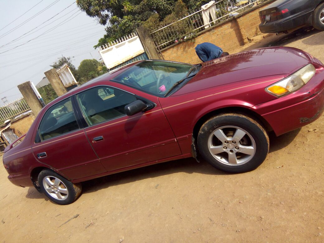 Very Clean Camry 1999 Registered For Grabs Autos Nigeria