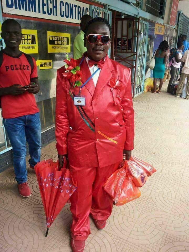 Man In Red: Valentine Dressing Of The Day (Photo) - Jokes Etc