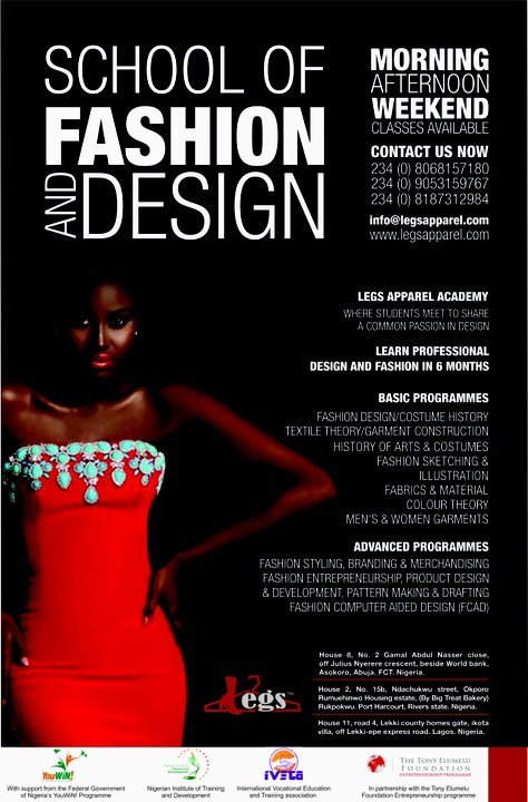 Fashion And Design School In Lagos School Style