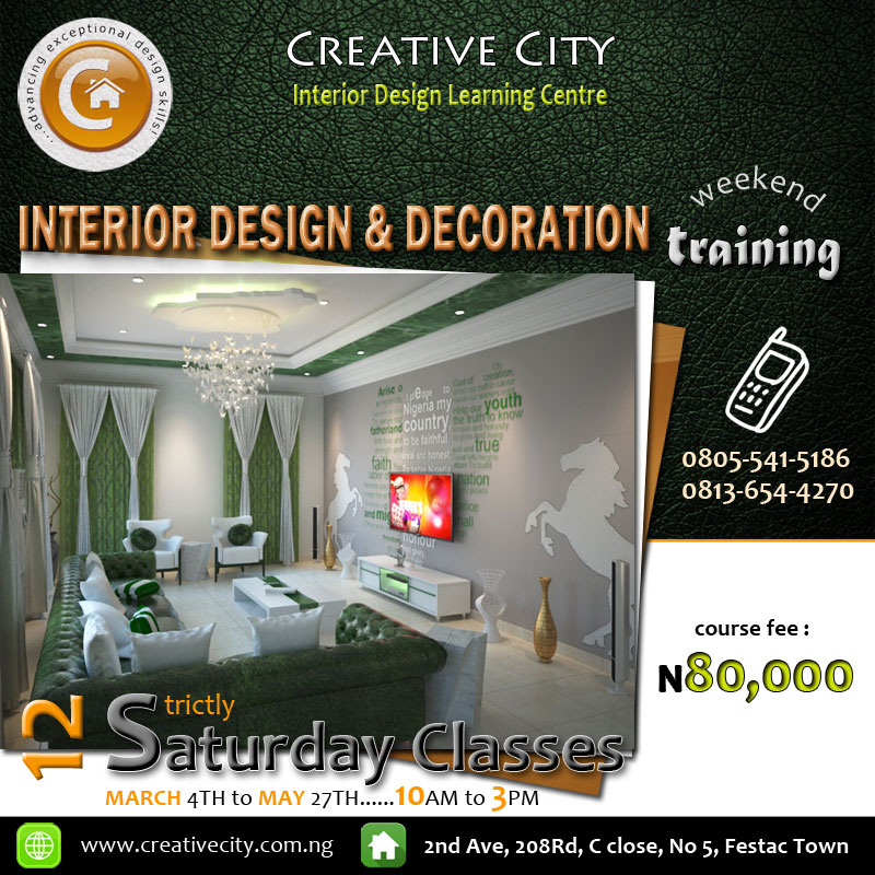 Interior design and decoration certificate course for Interior design decoration diploma
