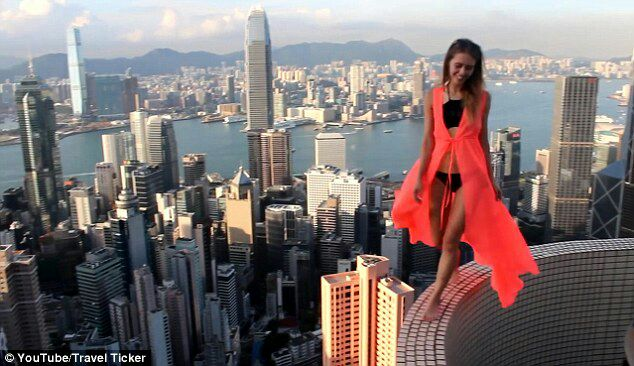 death defying extreme selfies people risking their lives