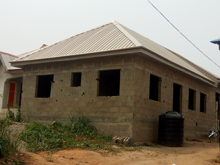 Supply Of Aluminium Roofing Material And Installation For
