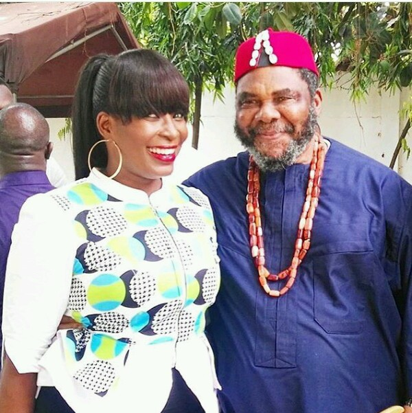 Image result for Pete Edochie Meets Rawlings