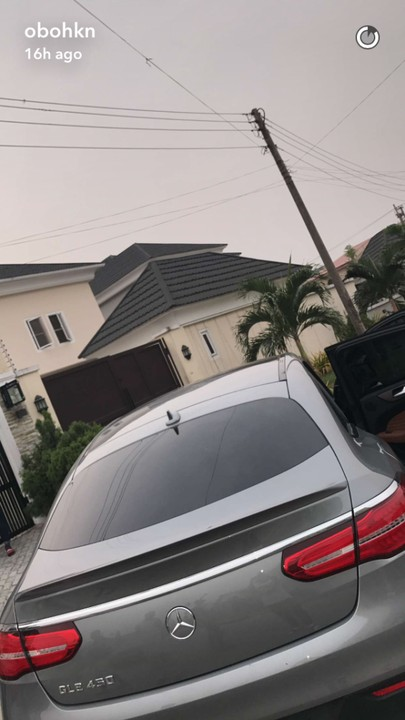 2017 Mercedes GLE450 : The Latest Ride Of Davido, The Review!