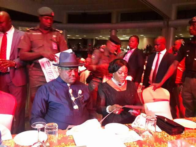 Image result for governor wike receives sun governor of the year award