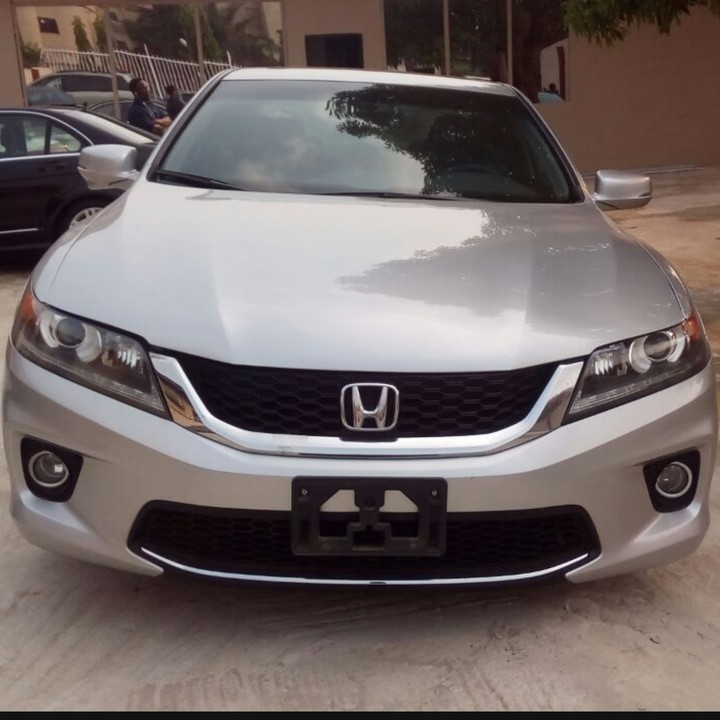 2units of 2014 honda accord coupe exl price each autos nigeria. Black Bedroom Furniture Sets. Home Design Ideas