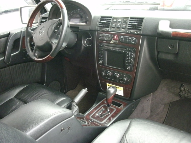 2004 mercedes benz g wagon g500 also available 2003