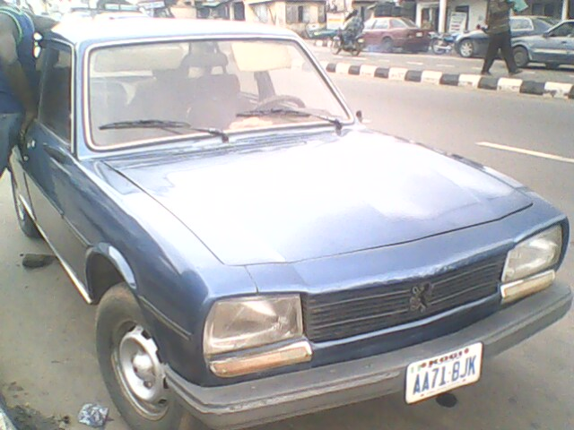 Auto Gele For Sale In Nigeria: Peugeot 504 Neatly Used For Sale-sold!!