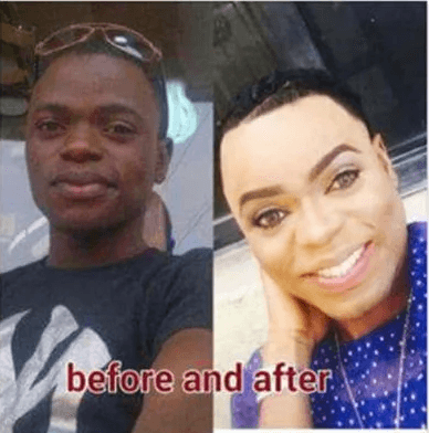 Image result for bobrisky before and now pictures