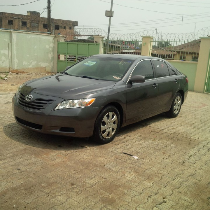 sold tin can cleared 2008 toyota camry le gray autos nigeria. Black Bedroom Furniture Sets. Home Design Ideas