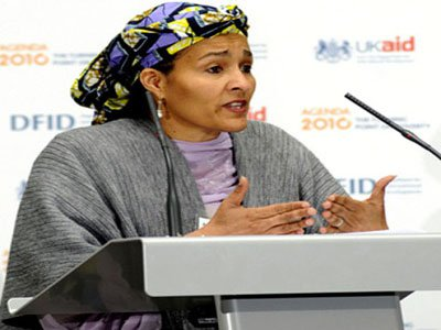 Ministers Weep At Amina Mohammed's Valedictory Session
