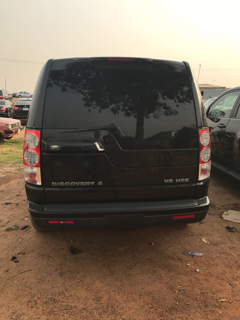Sold Used Land Rover Lr4 2012 In Abuja For N9 000 000